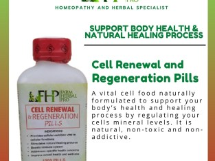 Cell Renewal and Regeneration Pills