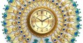 Peacock wall clock for sale | home decoration