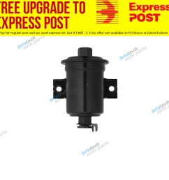 details about fuel filter 1995 for toyota corolla ae94 petrol 4 1 6l 4afe jc f [ 1000 x 1000 Pixel ]