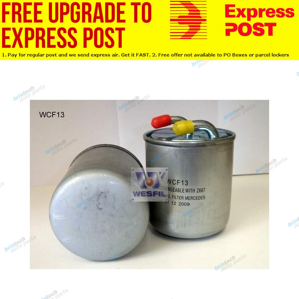 hight resolution of details about wesfil fuel filter wcf13 fits chrysler 300 c 3 0 crd