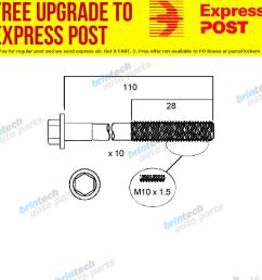 details about 1989 1992 for nissan pintara u12 ka24 ka24e head bolt set [ 1000 x 1000 Pixel ]