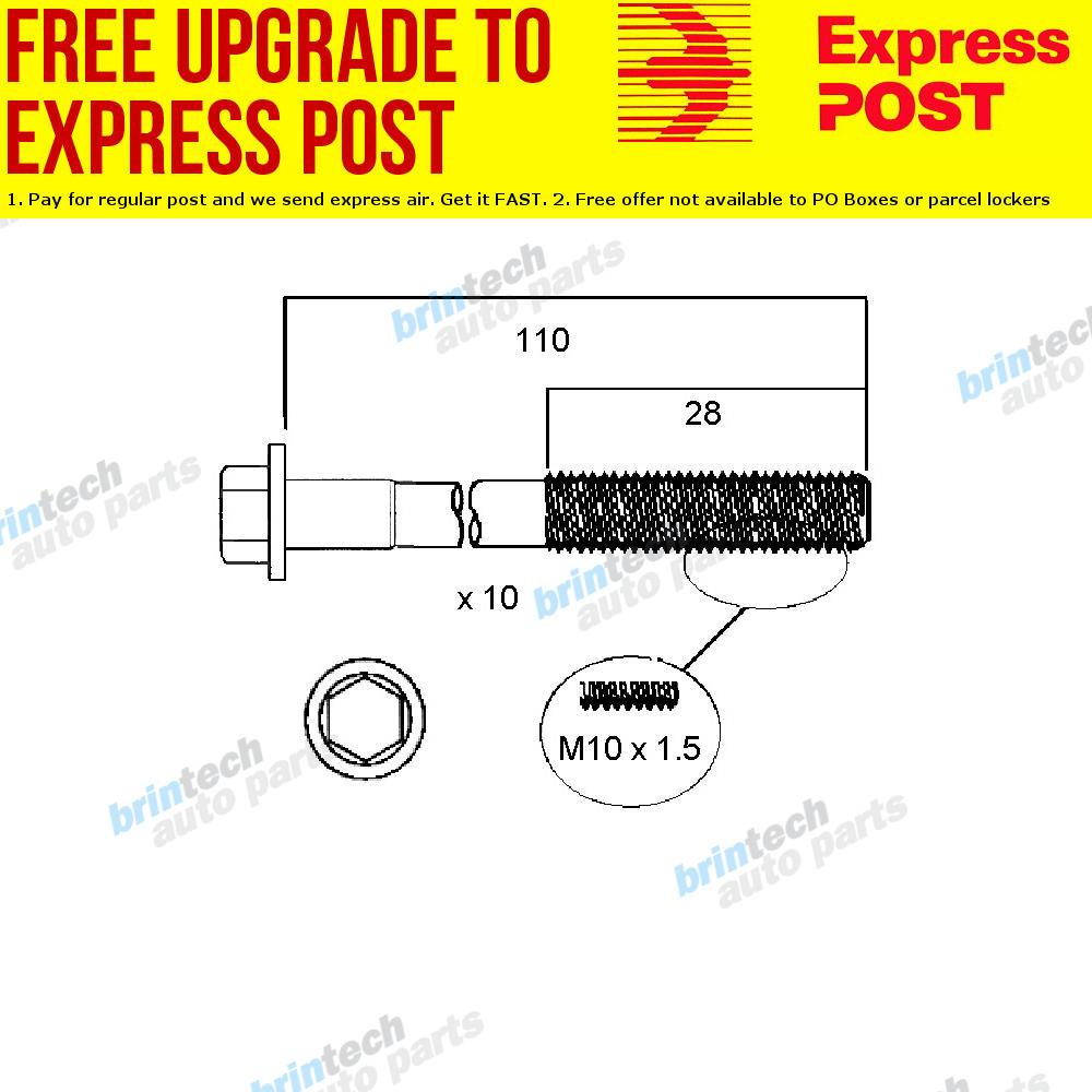 hight resolution of details about 1989 1992 for nissan pintara u12 ka24 ka24e head bolt set