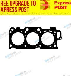 details about 2003 2007 for toyota kluger mcu28 3mz 3mz fe vvt head gasket right s [ 1000 x 1000 Pixel ]