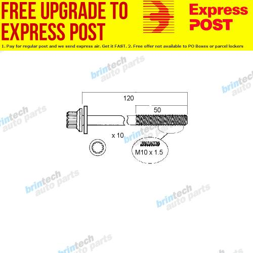 small resolution of details about 2004 2007 for suzuki liana rh418 m18a vct head bolt set