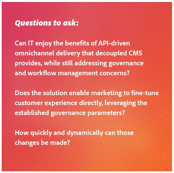 questions to ask to help your marketing and IT teams work together