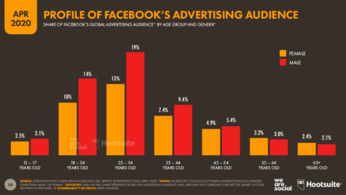 Facebook audience profile