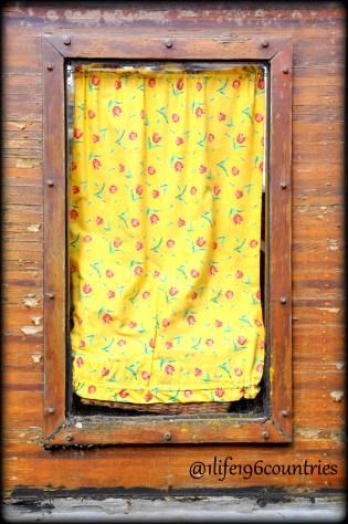 curtain in window