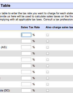 Ebay sales tax table also charge the right rate with this chart rh blogjar