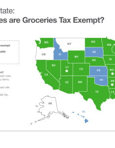 States where grocery items are tax exempt also sales by state taxable rh blogjar