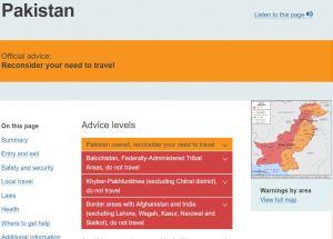 Pakistan - Smart Traveller
