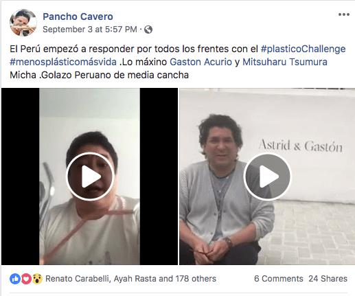 Gaston Acurio-PlasticoChallenge