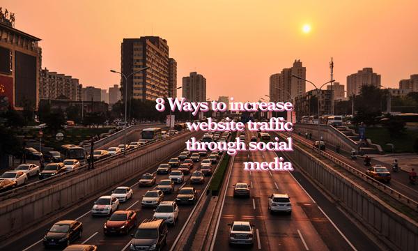 Drive website traffic from social media