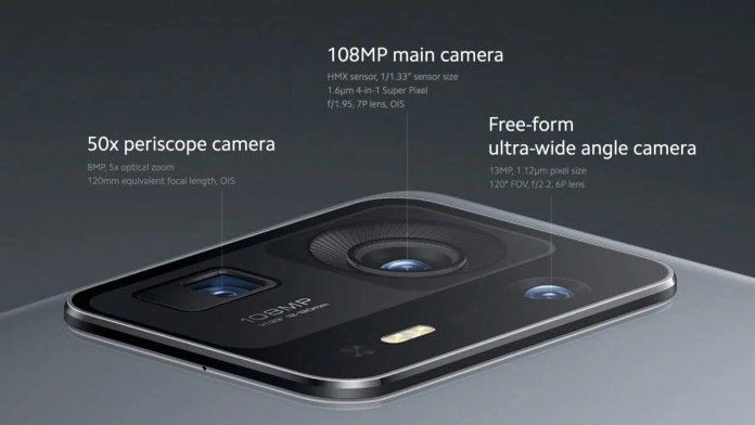 Xiaomi Mi Mix 4 camera system the first phone of its kind with a full screen and the most powerful processor in the world