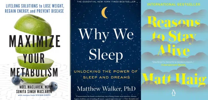 6 books to read to be healthier happier and less stressed: including Why We Sleep