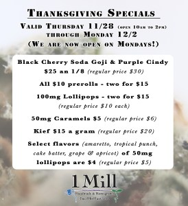 Thanksgiving Weekend Deals