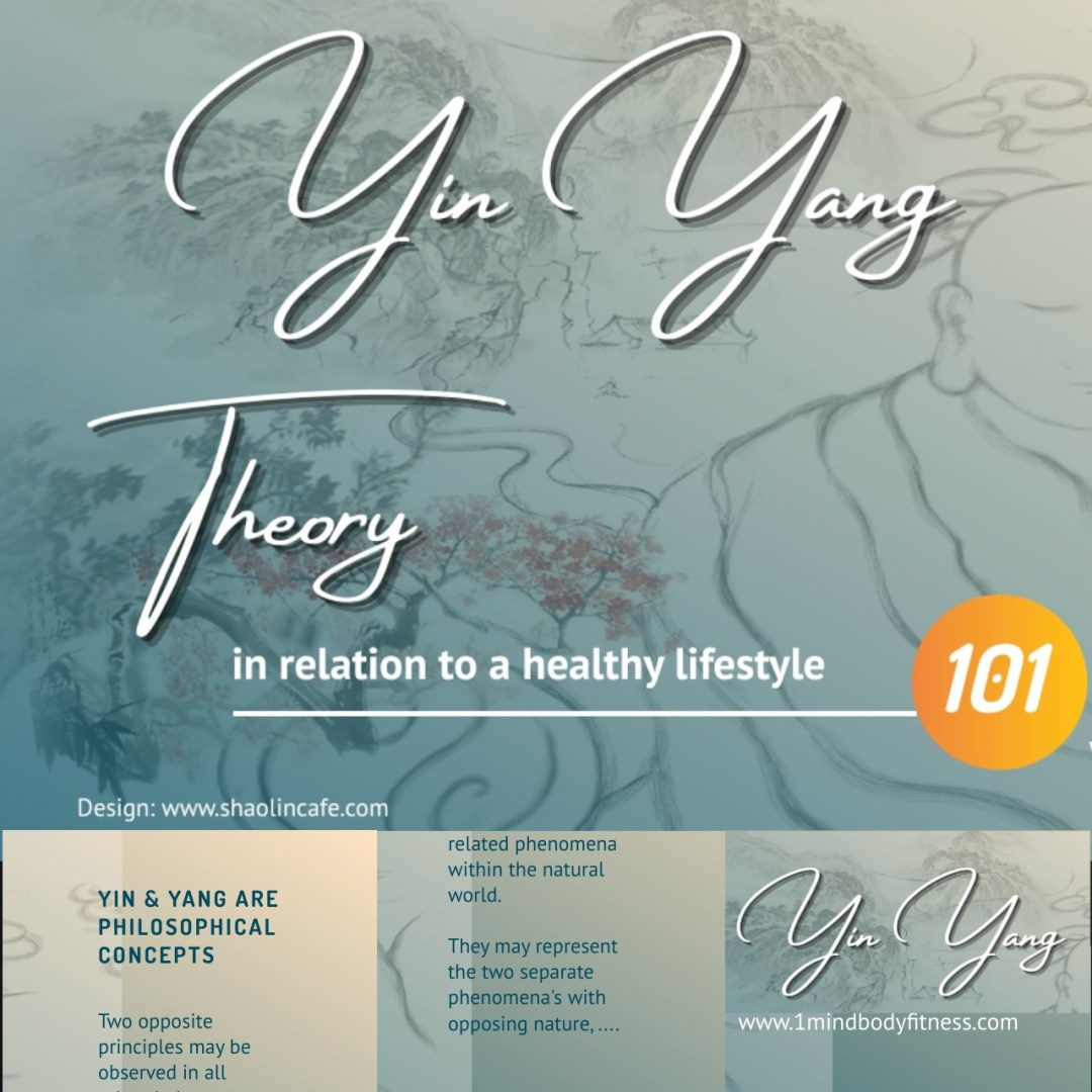 Basic Yin Yang Theory In Relation to a Healthy Lifestyle Book