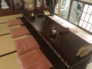 蕎麦奉行の座敷