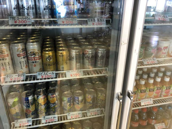 東京湾フェリーのアルコール飲料
