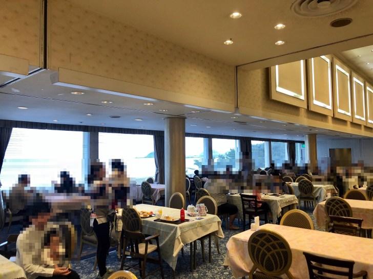 鴨川グランドホテルの朝食会場