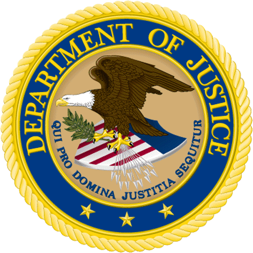 Seal of the United States Department of Justice DOJ