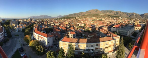 Korca, view from RED Tower.