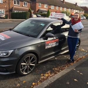 holly-broomfield - Passed 10th November 2016 - Morden