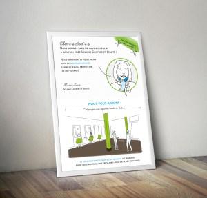 IDENTITE-AFFICHE-surmesure-illustration-soleane - 1 Noiseau à Paris - Graphiste illustratrice Webdesigner Val de Marne
