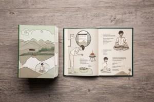 ILLUSTRATION-LIVRE-zen - 1 Noiseau à Paris - Graphiste illustratrice Webdesigner Val de Marne