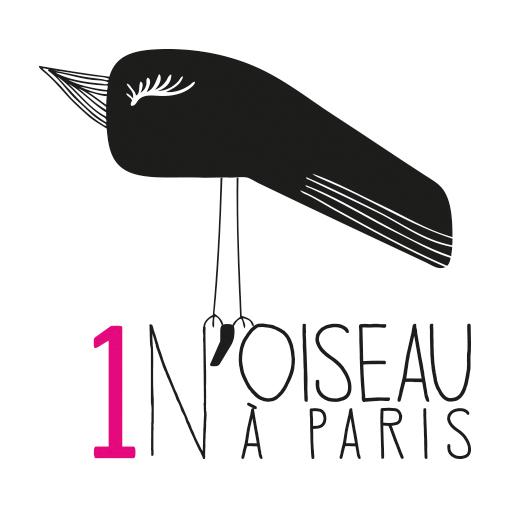 Logo - 1 Noiseau à Paris - Graphiste illustratrice Webdesigner Val de Marne