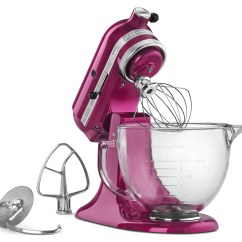 Pink Kitchen Aid Mixer Backsplash Trends Winner Announced 39cook For Mom 39 With A Big Kitchenaid