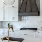 27 Marble Herringbone Backsplash Marble White Kitchen