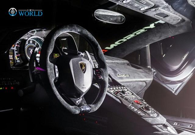 """Lamborghini """"Silver Surfer"""" Aventador"""