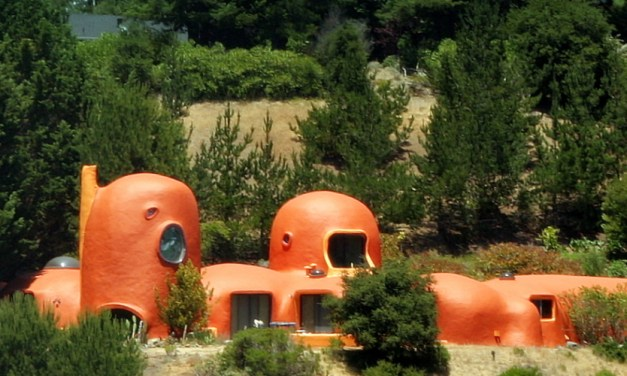 Flintstones Inspired Home in Malibu