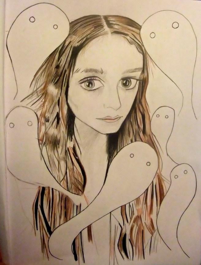 (Sketchbook drawing I've just done.)