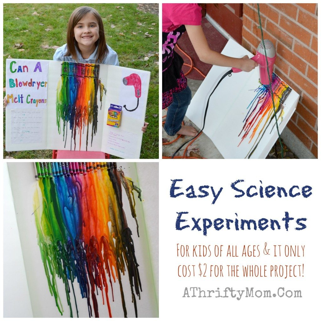 Fast And Easy Science Fair Experiments For Kids Of All