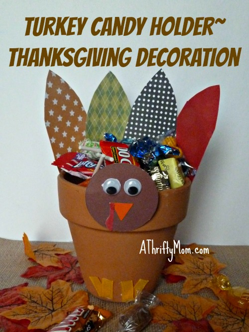 Turkey candy holder, #turkey, #thanksgiving, #fall, #thanksgivingcraft, #craft, #turkeycraft, #fallcraft, #diy, #thanksgivingcenterpiece