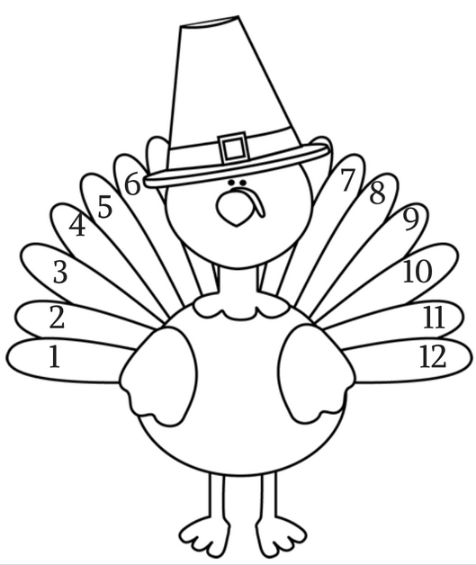 Thanksgiving Coloring Pages – Thanksgiving art