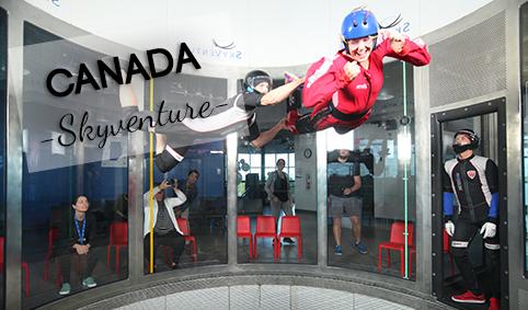 Photo Skyventure, soufflerie de montréal