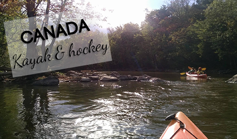 Kayak Rivière-des-mille-îles