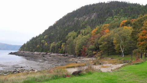 Fjords à Sainte-Rose-Du-Nord