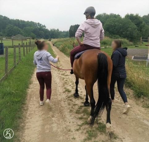 photo à cheval
