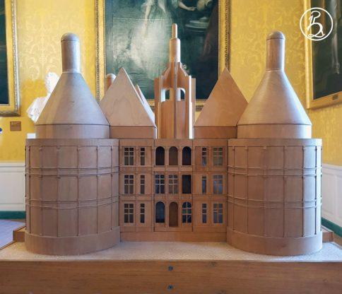 Maquette tactile du château de Chambord