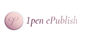 1pen header logo made by Helene Larsen - 1pene-Publish.com