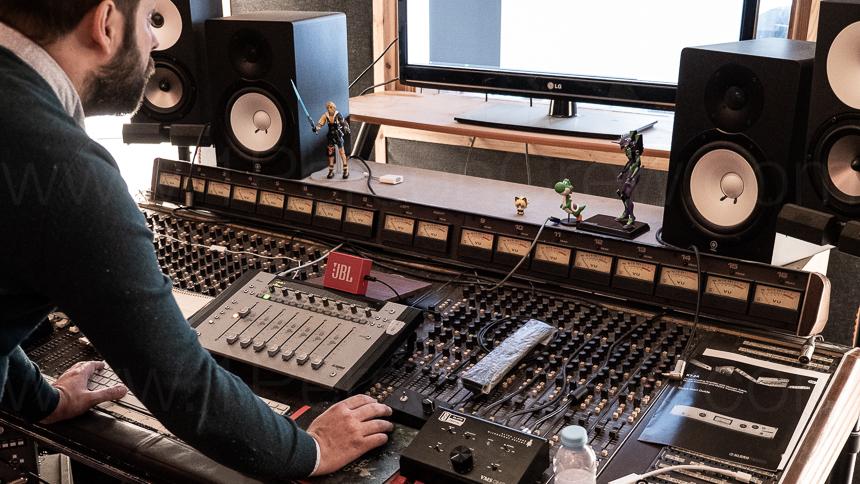 Tiago Carvalho, owner of Poison Apple Studio, a professional recording studio in Lisbon, Portugal.