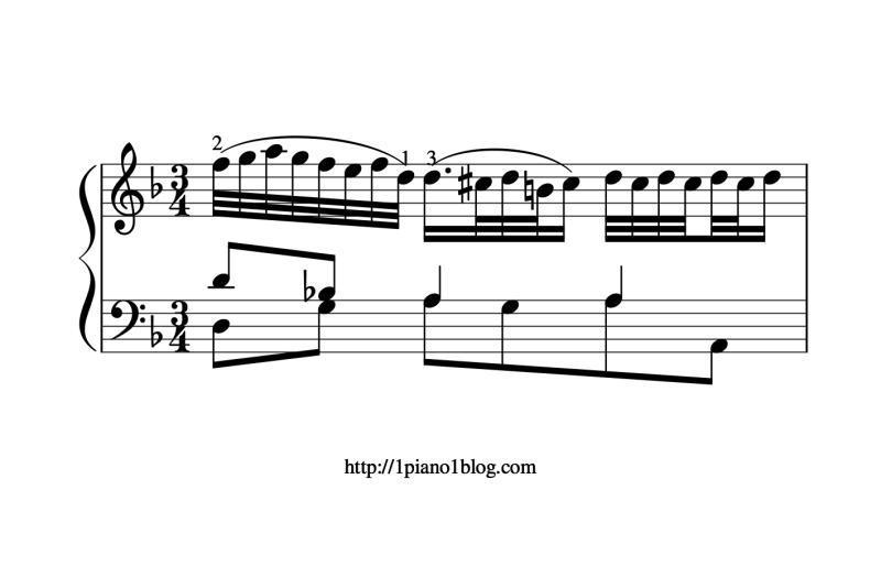 Bach, Marcello ornements adagio 974 mesure 34