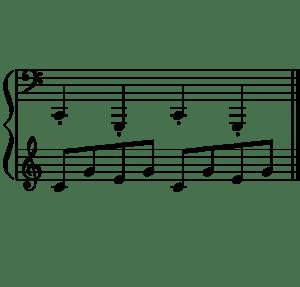 Jouer du piano en croisant les mains