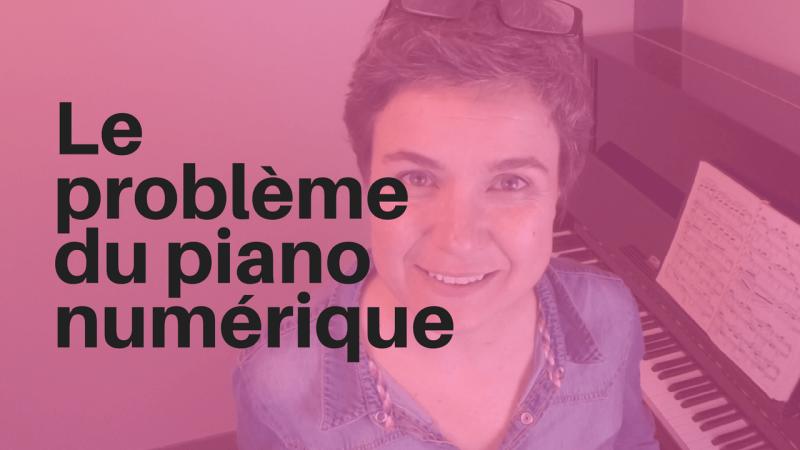 Problème piano numérique
