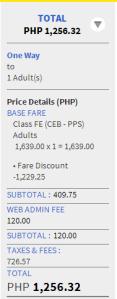 Promo Fare Tickets to CEBU 2014
