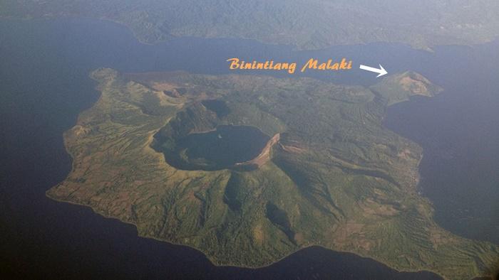 Taal Volcano versus Binintiang Malaki