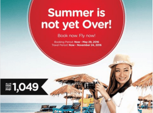 Air Asia Zest May to November 2016 Promo Fare ONGOING NOW!!